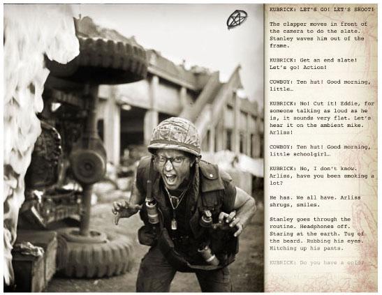 Matthew Modine - Full Metal Jacket Diary