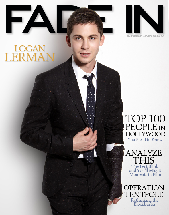 Logan Lerman Cover