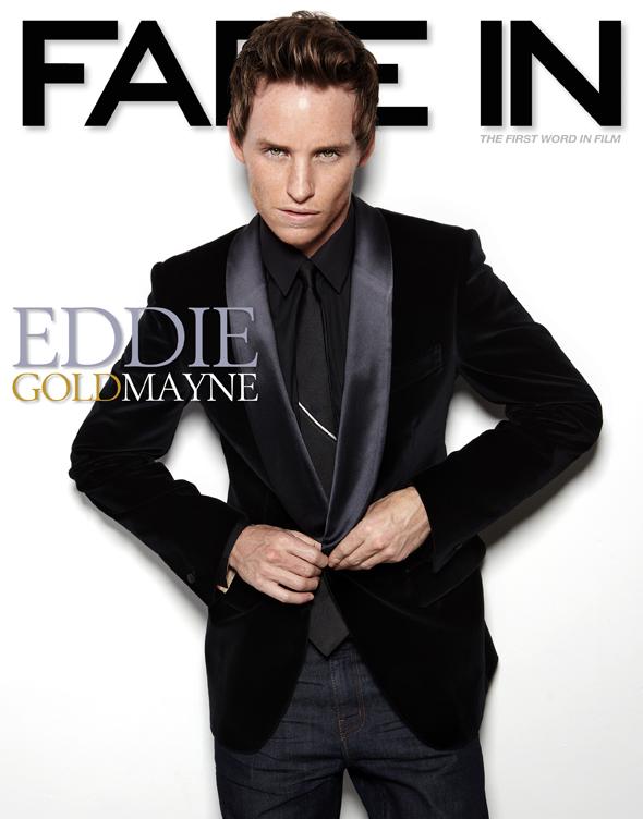 Eddie Redmayne Oscar Cover
