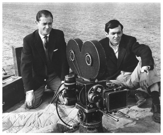 James B. Harris and Stanley Kubrick
