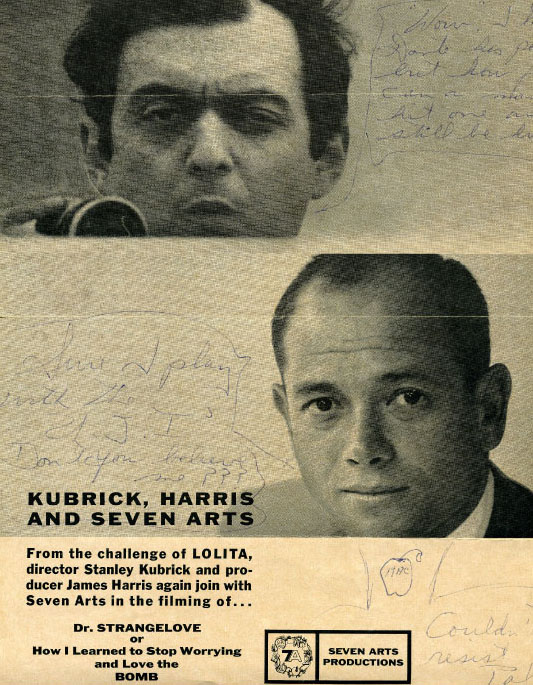 Harris and Kubrick Seven Arts