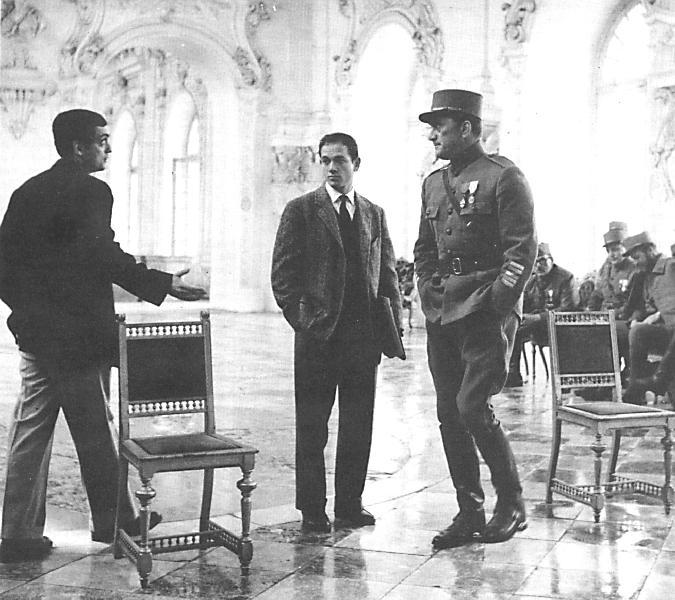 Paths of Glory - Kubrick, Harris, and Douglas