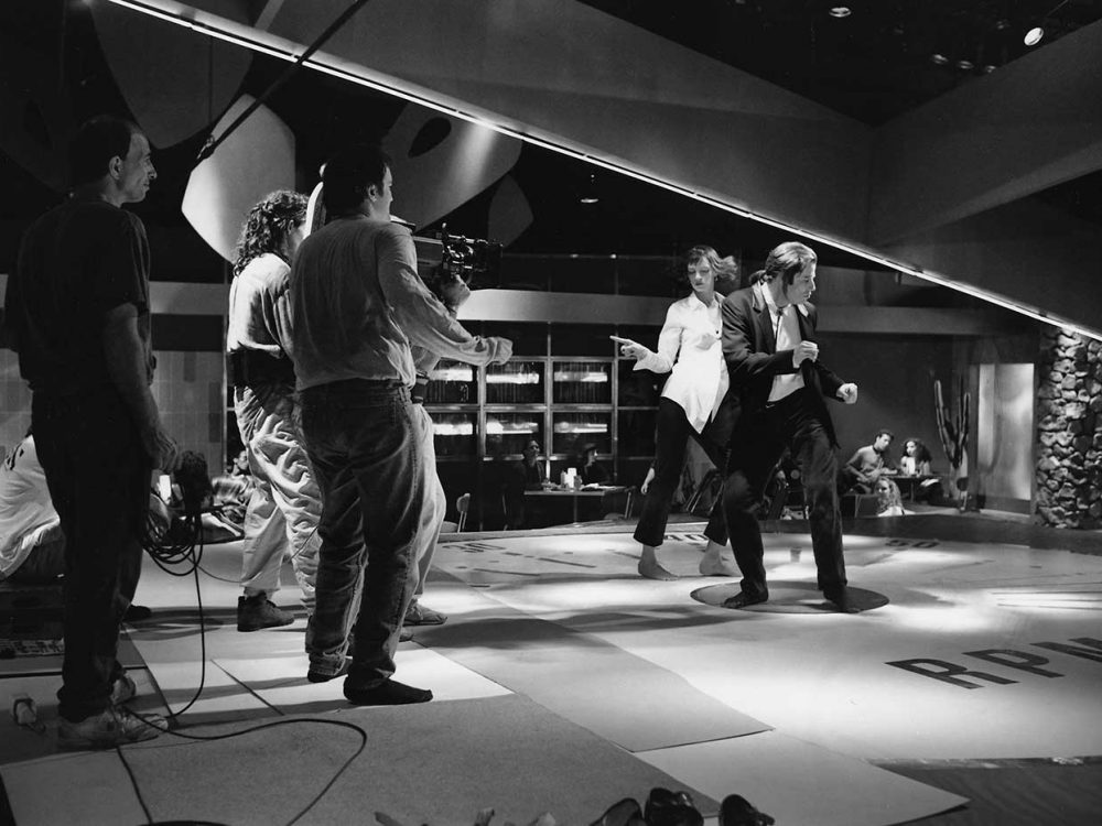 pulp fiction making of behind scenes