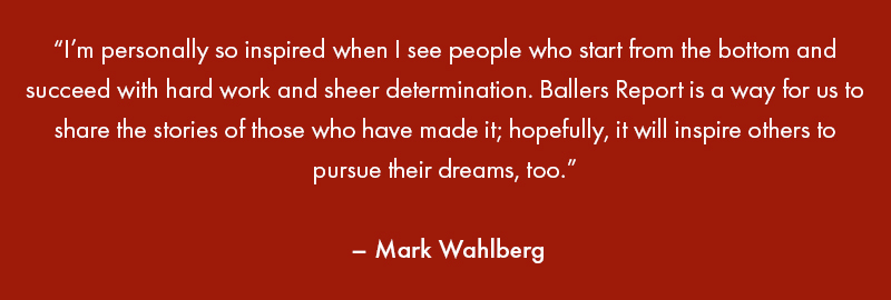 mark wahlberg ballers report